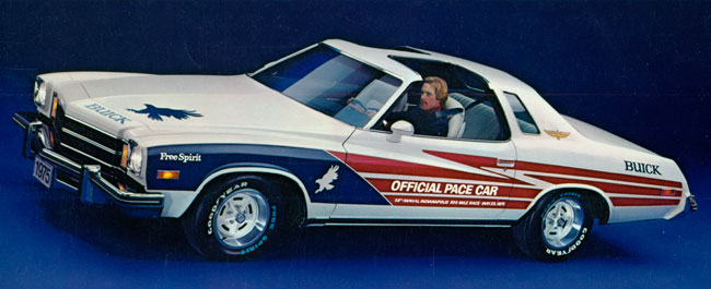1975 Buick Century Pace Car Publicity Photo