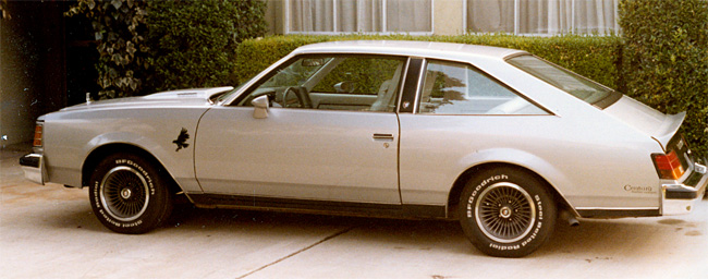My dad's 1979 Buick Century Turbo Coupe