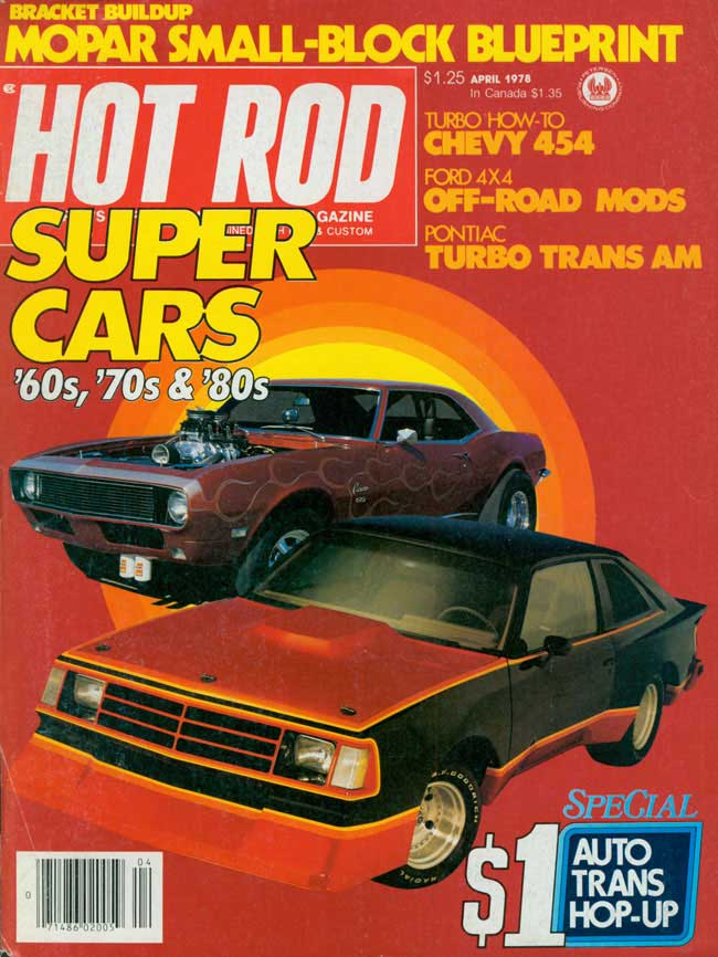 Hot Rod Cover, April 1978