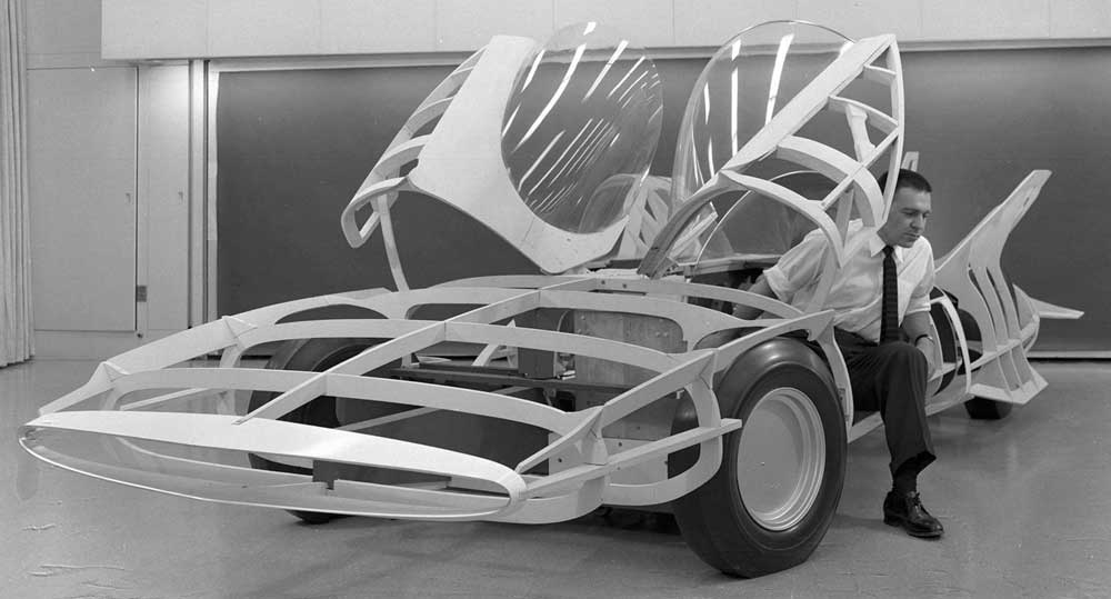 Firebird III Mock up