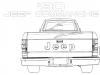 Sketch-made-during-brief-study-of-developing-a-Jeep-Commanche-pick-up-by-rebadging-a-Dodge-Dakota