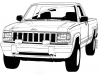 Sketch-made-for-'Jeep-Commanche'-front-end-treatment-on-Dodge-Dakota-sheet-metal