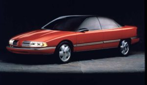 Development of the 1992 Oldsmobile Achieva SCX