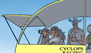 Cyclops Racing Team Tent