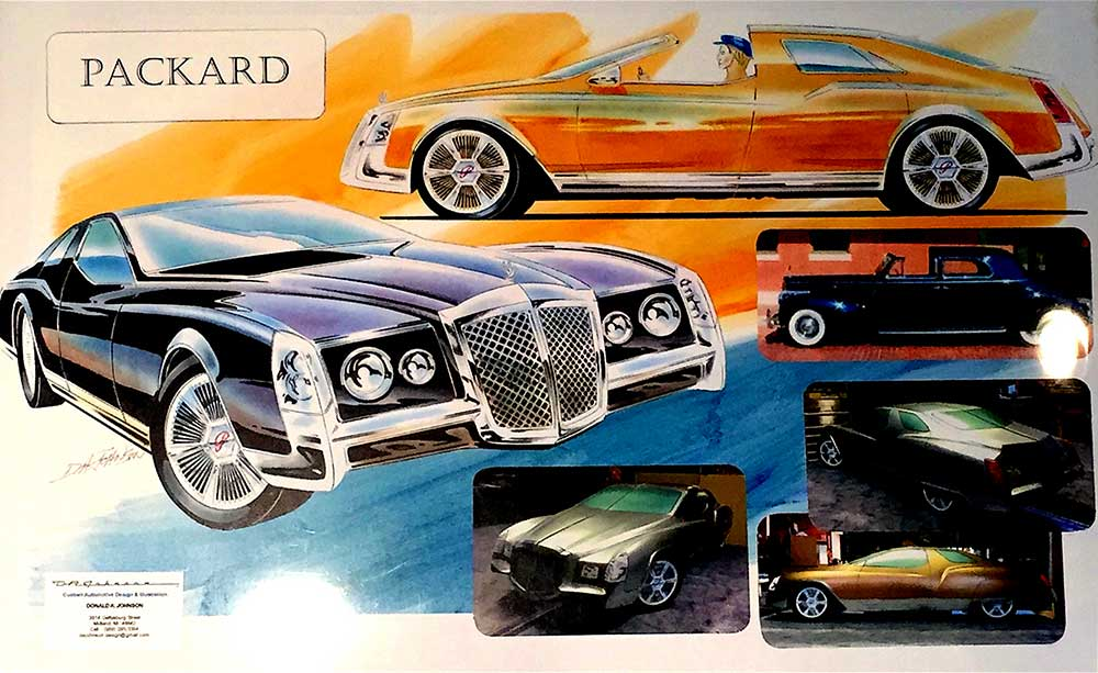 2016 league of retired designers packard project dean 39 s for Garage auto legue langueux