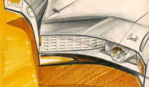 GM Studio Sketches and Richard Nesbitt's Mustang Tribute