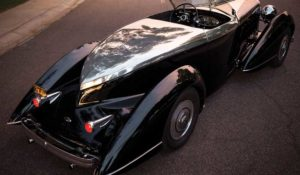 David Holls-designed 1932 Model KB Boattail Speedster