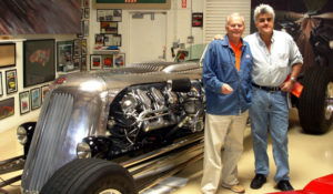 David North with Jay Leno's 1966 Toronado