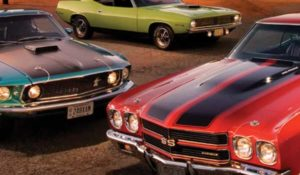 American Muscle Cars—A Full-Throttle History