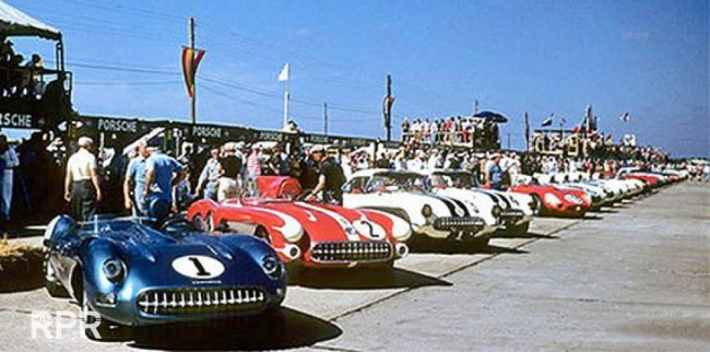 RPR_1957-Sebring-Hopkins-Corvettes-Cars-numbers-1-2-3