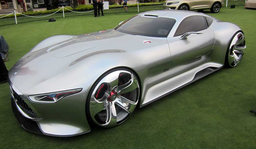The kookiest cars at pebble week dean s garage for Mercedes benz amg vision gt