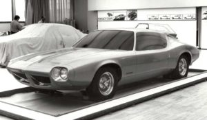 1970-71 F-body Concept—Advanced Pontiac Studio
