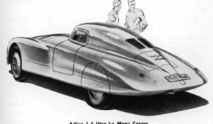 Sports Cars of the Future by Strother MacMinn