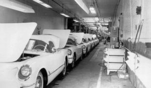 Building the Corvette SS; Stingray Racer at Elkhart; Building the '53 Corvette; Design Center Tour